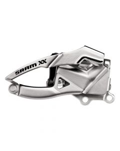 SRAM XX 10sp Low Direct Mount voorderailleur-Zilver-Direct mount