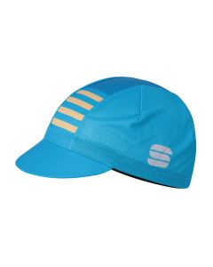 Sportful Mate cap-Atomic blauw-Methyl blauw-Goud