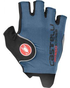 Castelli Rosso Corsa Pro wielrenhandschoenen-Blauw-L