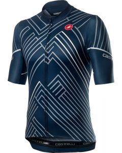Castelli Passo wielershirt korte mouw-Donker infinity blauw-3XL