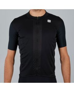 Sportful Strike wielershirt korte mouw-Zwart-Wit-XL