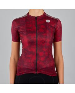 Sportful Escape Supergiara dames wielershirt korte mouw-Rumba red-XL
