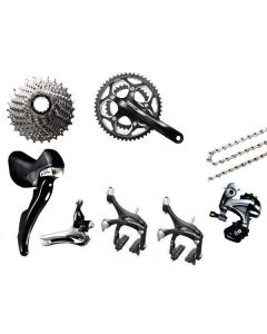 Afmontage Shimano Ultegra 6800 compact mix