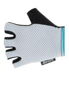Santini Mille wielrenhandschoenen-Zilver bullet-XL