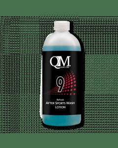 QM 9 After Sports Wash-Zwart-450ml
