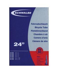 Schwalbe SV9C binnenband-Zwart-24x1.00