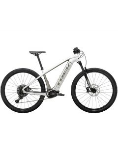 Trek Powerfly 5-Crystal white-Metallic gunmetal-L