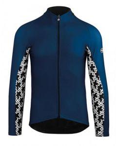 Assos Mille GT Spring/Fall wielershirt lange mouw-Blauw-3XL