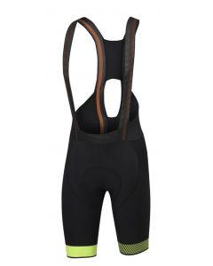 Sportful Bodyfit Pro Ltd koersbroek met bretels-Zwart-Fluorgeel-S