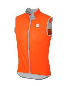 Sportful Hot Pack Easylight wielervest mouwloos-Oranje-M