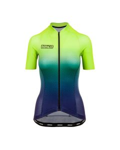 Bioracer Vesper Jupiter Sunset dames wielershirt korte mouw