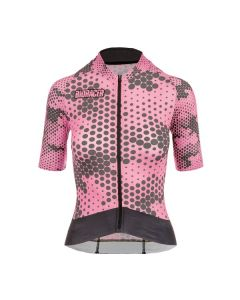 Bioracer Epic Camo Dot dames wielershirt korte mouw