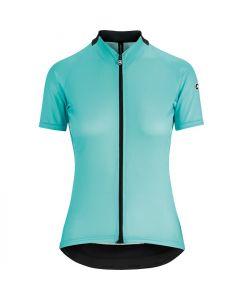 Assos Uma GT Evo dames wielershirt korte mouw-Aqua green-S