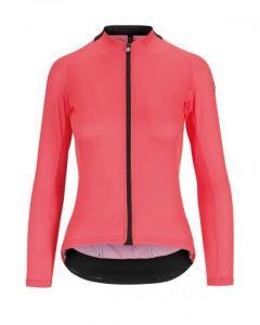 Assos Uma GT Summer dames wielershirt lange mouw-Roze-XL