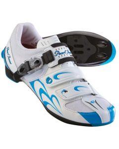 Pearl Izumi Race II dames wielrenschoenen-Wit-Blauw-36