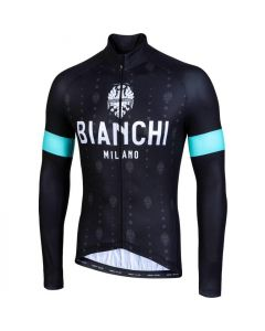 Bianchi Milano Perticara wielershirt lange mouw