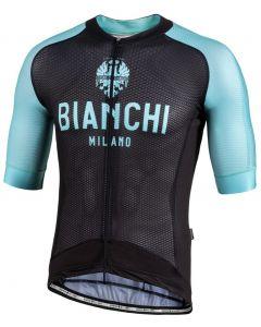 Bianchi Milano Valcona1 wielershirt korte mouw