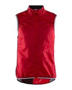 Craft Lithe wielervest mouwloos-Rood-M