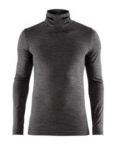 Craft Fuseknit Comfort Turtleneck ondershirt lange mouw-Zwart-2XL