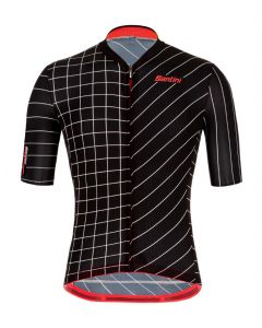 Santini Eco Sleek Dinamo wielershirt korte mouw
