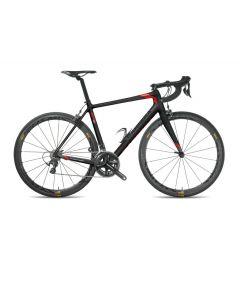 Carrera ER01 Endurance-A7-100-Mat zwart-Rood-XXS