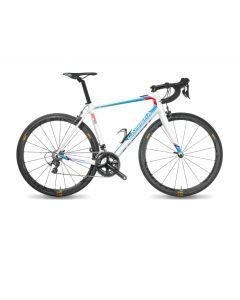 Carrera ER01 Endurance frameset-A7-104 Wit-Blauw-Rood-L