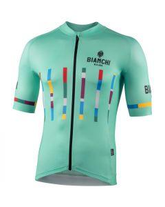 Bianchi Milano Fanaco wielershirt korte mouw
