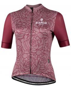 Bianchi Milano Sosio dames wielershirt korte mouw