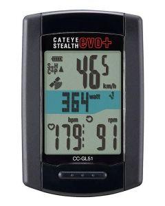 Cateye Strada Stealth Evo+ GL51 CPL draadloze fietscomputer