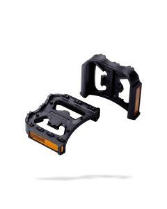 BBB BPD-90 FeetRest clipless adapter-Zwart