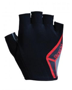 Roeckl Biel wielrenhandschoenen-Zwart-Rood-11