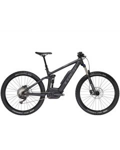 Trek Powerfly 7 FS Plus-Matt Trek black-Solid charcoal-17.5
