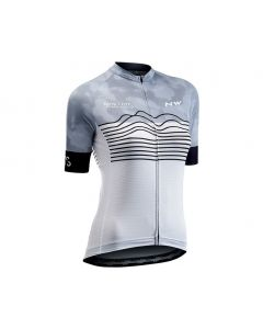 Northwave Blade dames wielershirt korte mouw-Wit-Zwart-XL