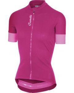 Castelli Anima 2 dames wielershirt korte mouw-Alba pink-L