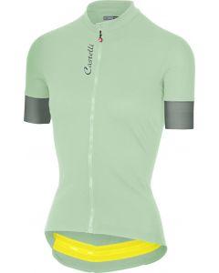 Castelli Anima 2 dames wielershirt korte mouw-Pastel mint-L