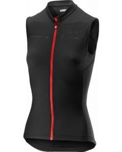 Castelli Promessa dames wielershirt mouwloos-Zwart-XL