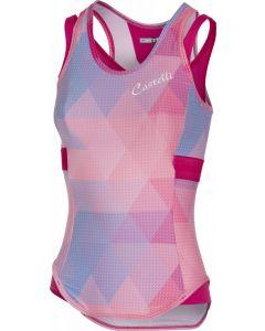 Castelli Alba dames top-Alba pink-XS