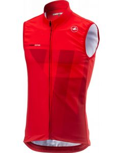 Castelli Thermal Pro wielervest mouwloos-Rood-S