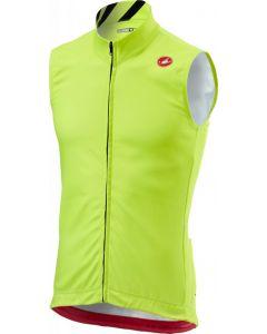 Castelli Thermal Pro wielervest mouwloos-Fluorgeel-S