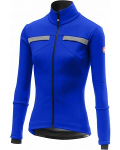 Castelli Dinamica dames wielerjack-Rescue blauw-S