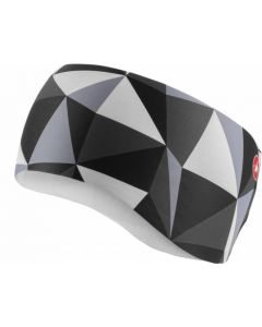 Castelli Triangolo dames hoofdband-Zwart-Wit