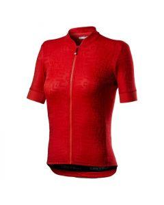 Castelli Promessa Jaqcuard dames wielershirt korte mouw