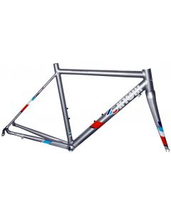 Cinelli Experience dames frameset-Supersonic Grey-XXS