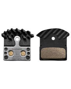 Shimano J04C Metal met koelvin schijfremblokken