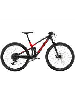 Trek Top Fuel 8-Matte Trek Black-Gloss Viper Red-M/L