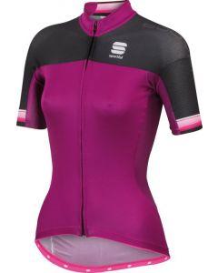 Sportful Bodyfit Pro FZ dames wielershirt korte mouw