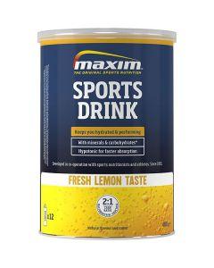 Maxim Sports Drink dorstlesser-Lemon-480gr