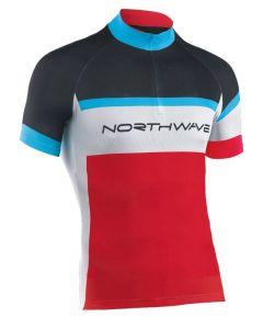 Northwave Logo kinder wielershirt korte mouw