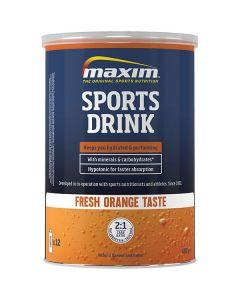 Maxim Sports Drink dorstlesser-Orange-480gr