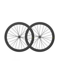 Mavic Ksyrium Pro carbon SL UST disc centerlock WTS wielset-Zwart